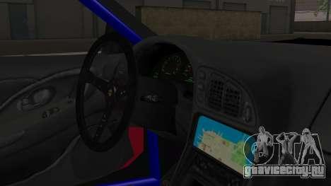 Mitsubishi Eclipse GSX 1999 Mugi Itasha для GTA San Andreas вид справа