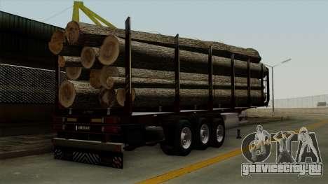 Trailer Fliegl v1 для GTA San Andreas вид слева