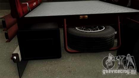Trailer Fliegl v1 для GTA San Andreas вид справа