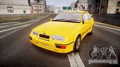 Ford Sierra RS500 Cosworth v2.0 для GTA 4