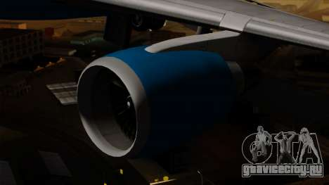 Boeing C-32 Air Force Two для GTA San Andreas вид справа