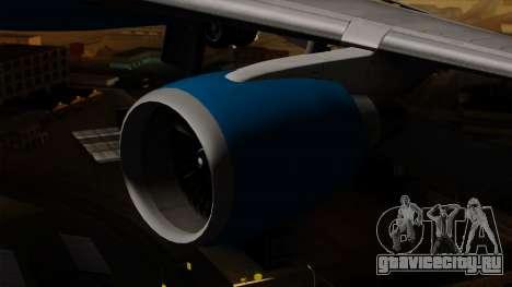 Boeing C-32 Air Force Two для GTA San Andreas вид справа
