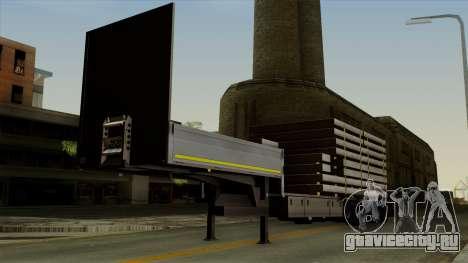 Flatbed3 Grey для GTA San Andreas