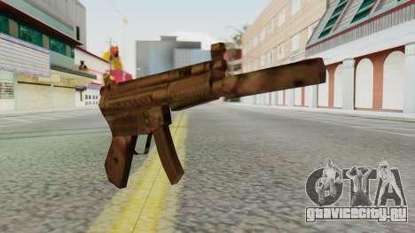 MP5K Silenced SA Style для GTA San Andreas