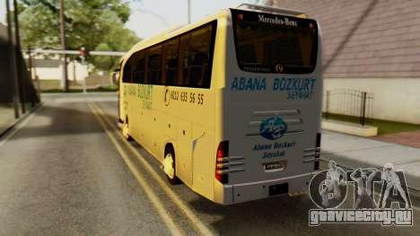 Mercedes-Benz Travego Abana Bozkurt Seyahat для GTA San Andreas вид слева
