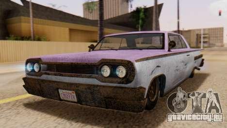 GTA 5 Declasse Voodoo Worn для GTA San Andreas