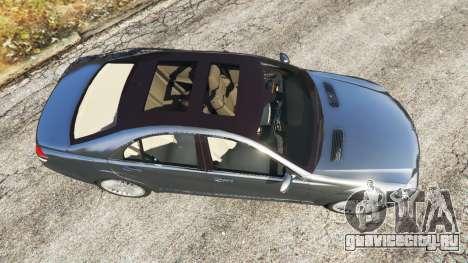 Mercedes-Benz S500 W221 v0.2 [Alpha] для GTA 5