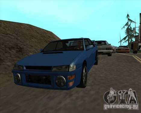 Sultan v1.0 для GTA San Andreas вид справа