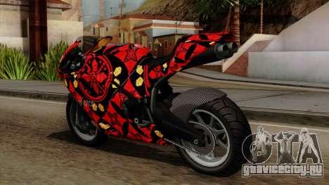 Bati Batik для GTA San Andreas вид сзади слева
