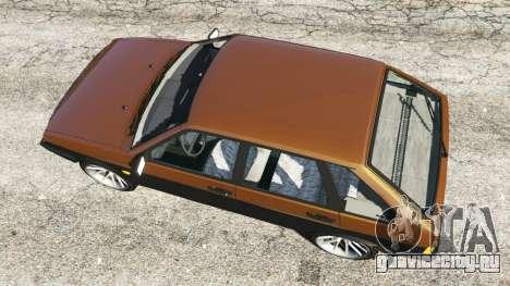 ВАЗ-21093i для GTA 5 вид сзади
