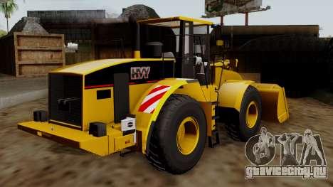GTA 5 HVY Dozer для GTA San Andreas вид слева