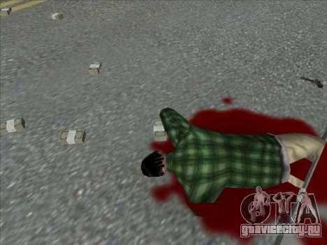 Weapons on the Ground для GTA San Andreas четвёртый скриншот