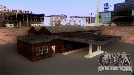 Новый гараж LSPD для GTA San Andreas второй скриншот
