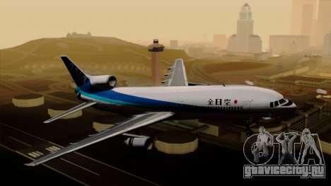 Lockheed L-1011 TriStar All Nippon Airways для GTA San Andreas