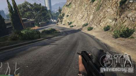 Карабин Bulldog для GTA 5 четвертый скриншот
