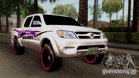 Toyota Hilux 2014 для GTA San Andreas