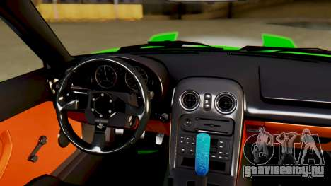 Mazda MX-5 BnSports для GTA San Andreas вид сверху