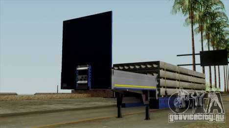 Flatbed3 Blue для GTA San Andreas