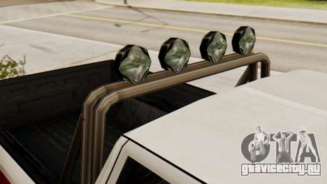 Сhevrolet Silverado SA Style для GTA San Andreas вид сзади слева