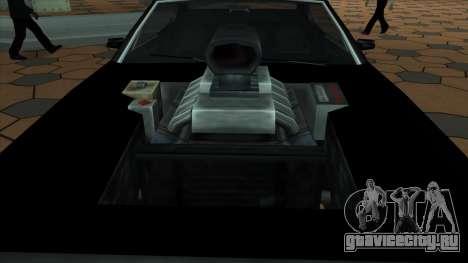 Muscle-Clover [BETA V.1] для GTA San Andreas вид сзади слева