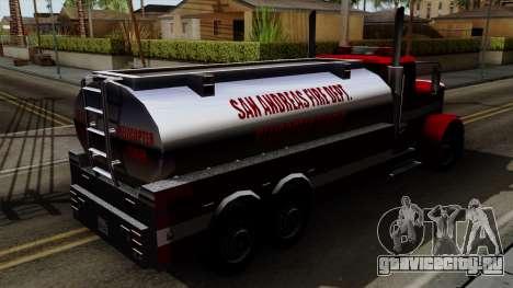 FDSA Helicopter Tender Truck для GTA San Andreas вид сзади слева