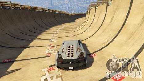 Maze Bank Mega Spiral Ramp для GTA 5 четвертый скриншот