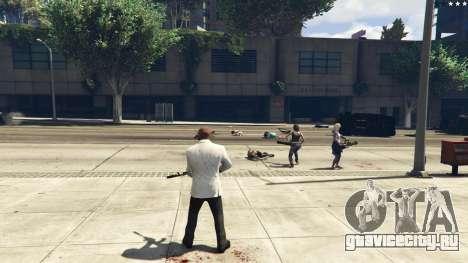 Bodyguard Menu 1.7 для GTA 5 десятый скриншот
