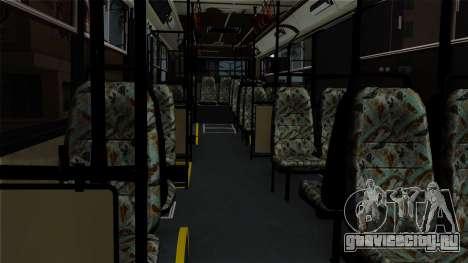 Ikarus 415 для GTA San Andreas вид сзади