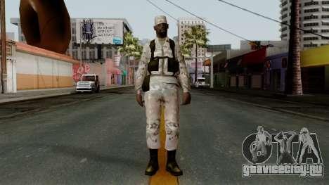 Армеец афроамериканец Multicam для GTA San Andreas второй скриншот