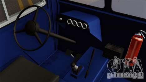Clark CT-50D Tug для GTA San Andreas вид справа