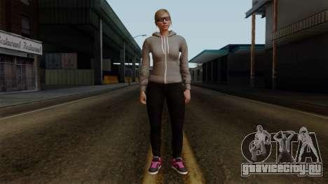 GTA 5 Online Female02 для GTA San Andreas второй скриншот