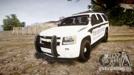 Chevrolet Tahoe 2013 New Alderney Sheriff [ELS] для GTA 4