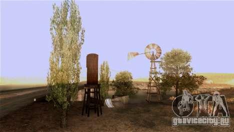 Текстуры деревьев из MGR для GTA San Andreas четвёртый скриншот