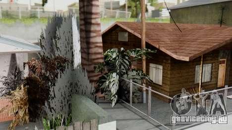 Winter Grove Street для GTA San Andreas третий скриншот