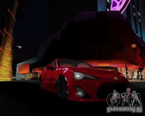 ENB Pizx для GTA San Andreas шестой скриншот