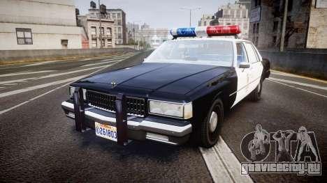 Chevrolet Caprice 1989 LAPD [ELS] для GTA 4