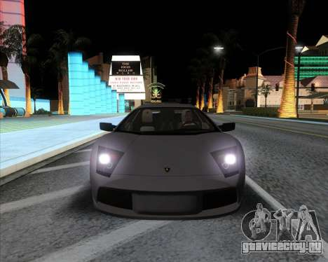 Andromax ENB для GTA San Andreas третий скриншот