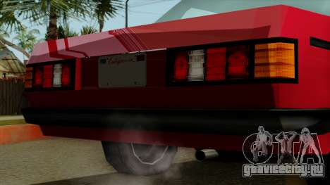 Admiral from Vice City Stories IVF для GTA San Andreas вид справа