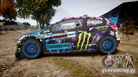 Ford Fiesta RS Ken Block 2015 для GTA 4 вид слева