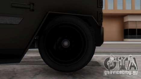 GTA 5 Enforcer Indonesian Police Type 2 для GTA San Andreas вид сзади слева