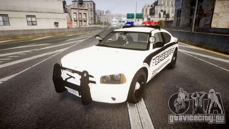 Dodge Charger 2010 New Alderney Sheriff [ELS] для GTA 4
