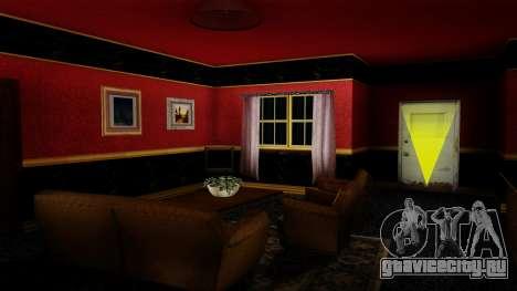 Ретекстур дома CJ в стиле Scarface для GTA San Andreas третий скриншот