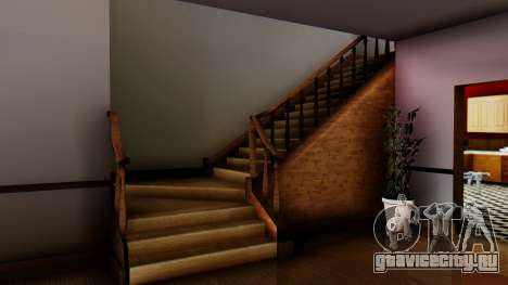 New Interior for CJs House для GTA San Andreas пятый скриншот