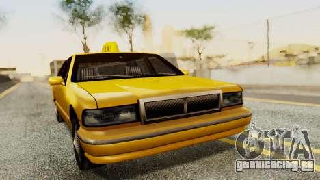 Declasse Premier Taxi для GTA San Andreas вид сзади слева