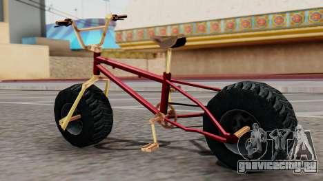 Monster BMX для GTA San Andreas вид слева