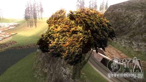Vegetation Original Quality v3 для GTA San Andreas