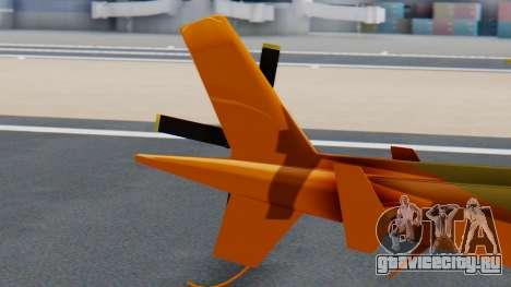 Swift Deluxe для GTA San Andreas вид сзади слева