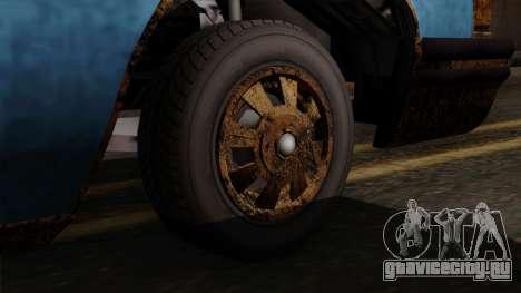 GTA 5 Albany Emperor Worn для GTA San Andreas вид сзади слева