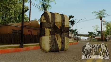 Original HD Satchel для GTA San Andreas второй скриншот