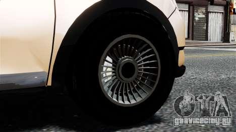 Dacia Logan MCV Stepway 2014 для GTA 4 вид сзади слева